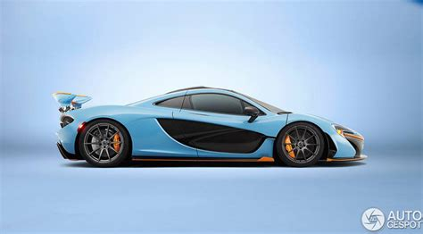 mso mclaren p gulf racing livery inspired side view