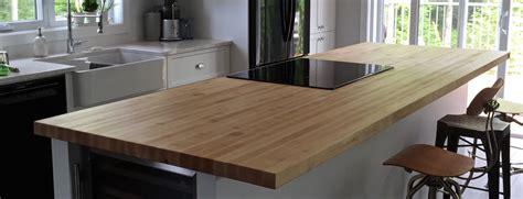 cuisine ilot bar table comptoir bloc de boucher et ilôt en bois massif