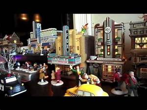 Part 2 hd version Dept 56 village 2012 christmas in the