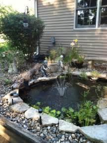 DIY Koi Pond Water Garden Ideas
