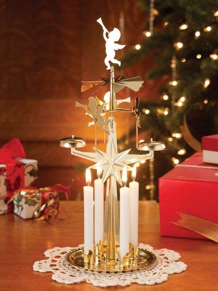 brass plated candle chimes  dancing angels