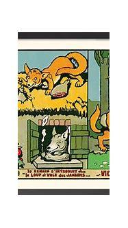 Illustration 1, Les aventures de renard, Benjamin Rabier ...