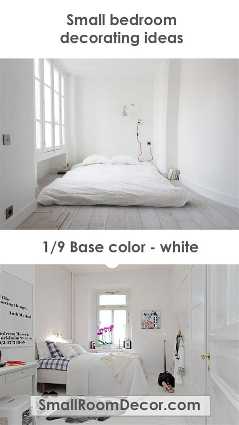 White Bedroom Decorating Ideas by 9 Modern Small Bedroom Decorating Ideas Minimalist Style