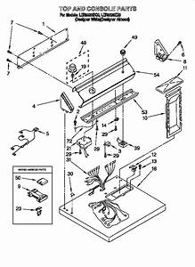 Diagram  U0026 Parts List For Model Ler5636eq0 Whirlpool