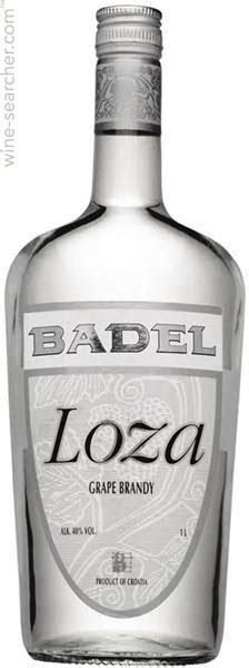Badel 1862 'loza' Grape Brandy  Prices, Stores, Tasting