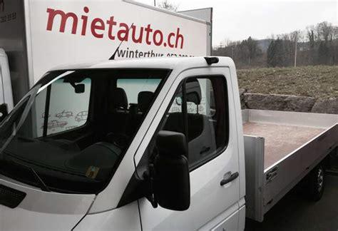 gebrauchte transporter kaufen mietauto ag autovermietung winterthur lieferwagen occasionen