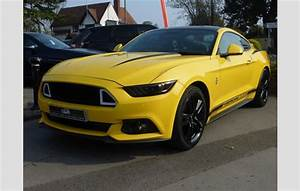 Ford Mustang Ecoboost Yellow 2016 | Ref: 8390030