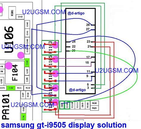 samsung i9505 galaxy s4 display lcd solution jumper problem ways