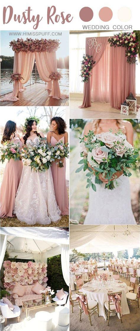 30+ Trendy Dusty Rose Wedding Color Ideas Pink wedding