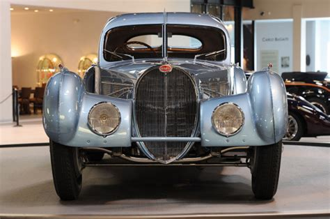 Only he or a few selected friends, mainly bugatti racing drivers, had the honour of sitting. 1936 Bugatti Type 57SC Atlantic   Spicytec