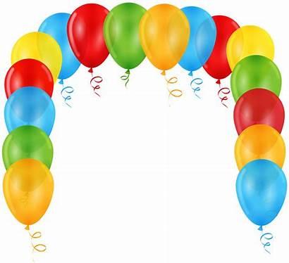 Balloon Arch Clip Transparent Clipart Balloons Yopriceville