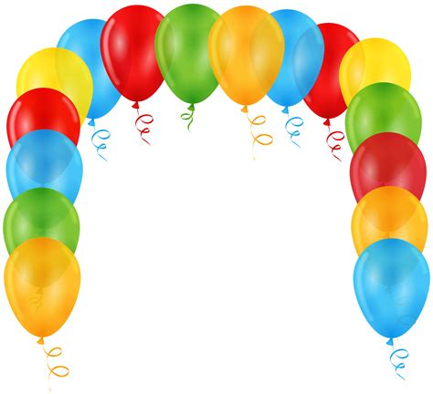 Balloon Arch Transparent Clip Art Gallery Yopriceville