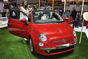 Fiat 500 Hybride : albums photos fiat 500 cabriolet ~ Medecine-chirurgie-esthetiques.com Avis de Voitures