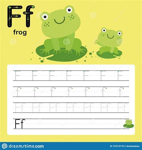frog tracing worksheets  preschool  tracing