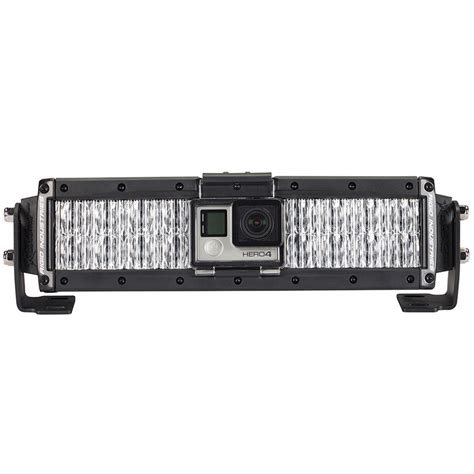 rigid industries 88100 capture led light bar gopro mount
