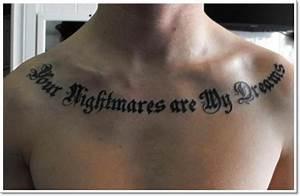 Unique Collar Bone Tattoos