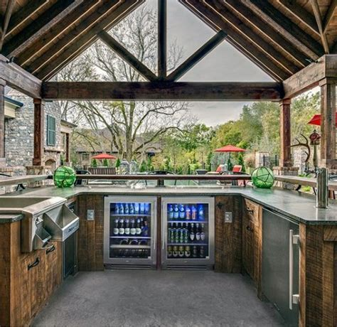 Top 60 Best Outdoor Kitchen Ideas   Chef Inspired Backyard