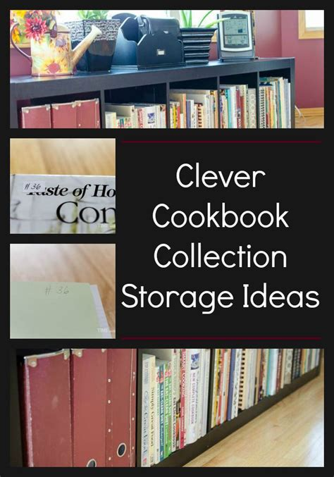 cookbook storage ideas  pinterest spice rack