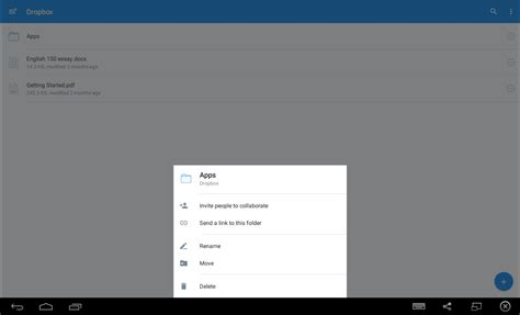 dropbox app for android onedrive vs dropbox to comparison