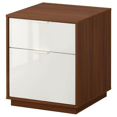 ikea nyvoll dresser nyvoll chest with 2 drawers medium brown white ikea