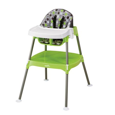 chaise haute toys r us amazon com evenflo convertible high chair dottie lime