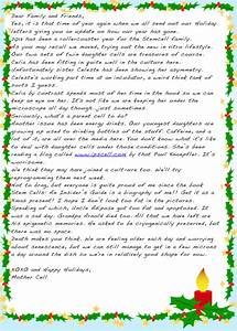 stem cell family christmas letter the niche With christmas letter pictures