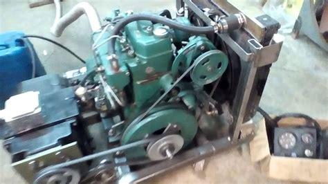 volvo mdb marine engine converted  home diesel
