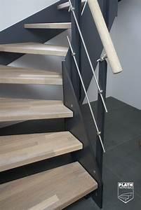Beläge Für Treppenstufen Innen : detail antritt flachwangentreppe hpl treppe mit stufen ~ Michelbontemps.com Haus und Dekorationen