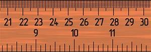 Image Gallery Life-size Ruler
