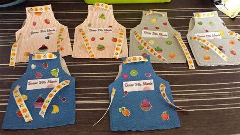 materiel de cuisine occasion carte tablier pour la fête des grands mères activites manuelles