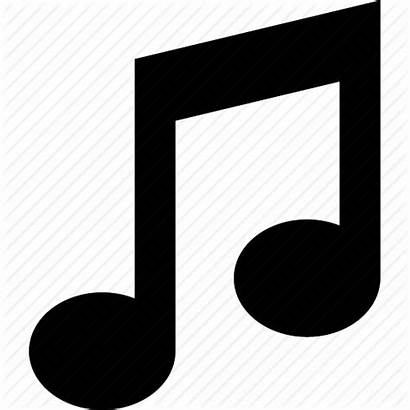 Icon Note Notes Notation Icons Audio Silhouette
