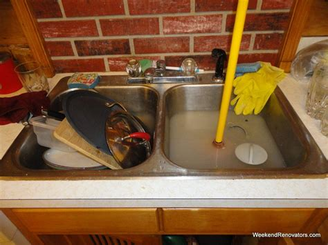 how to unclog a kitchen sink without drano como desentupir pia de cozinha rapido demais 9841