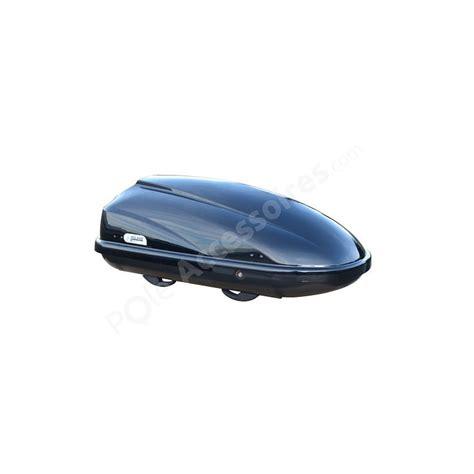 coffre de toit 370 litres travel noir pole accessoires