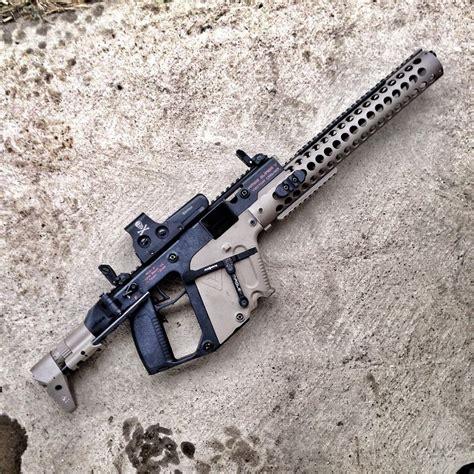 kriss vector extended handguard caliber conversions nra   firearm blogthe firearm blog