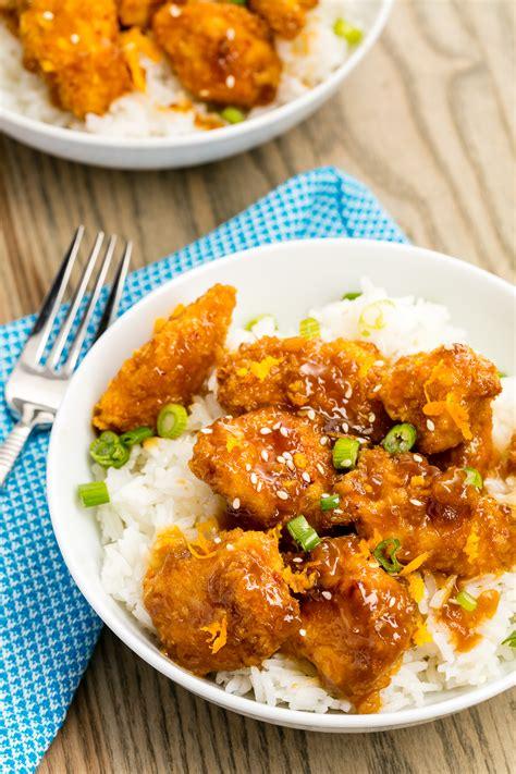 12 easy orange chicken recipes how to make homemade orange chicken delish com