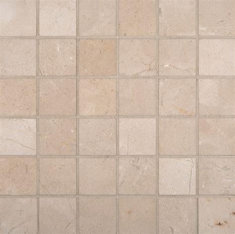 crema marfil mosaic tile crema marfil marble 2x2 square mosaic tile polished