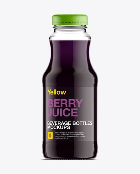 It is perfect for designers, since they are easily editable via smart objects. Clear Glass Bottle W/ Berry Juice Mockup in Bottle Mockups ...