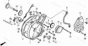 Honda Atv 1986 Oem Parts Diagram For Left Crankcase Cover
