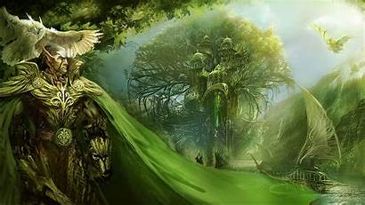 Sylvan Might Elves Fortress Heroes Magic Vii