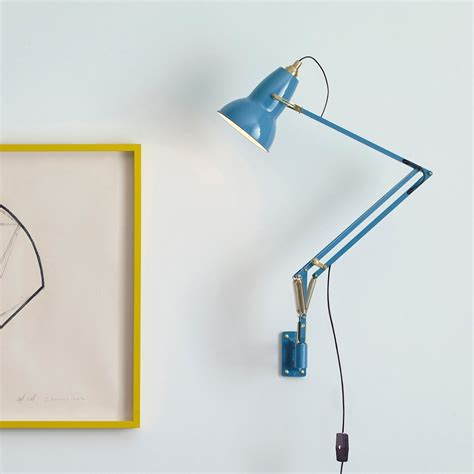 anglepoise original 1227 brass wall mounted task l