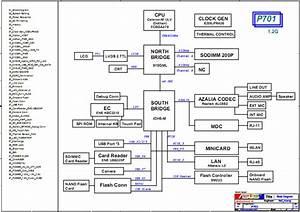 Asus Eee Pc P701 Schematic Diagram  U2013 Laptop Schematic