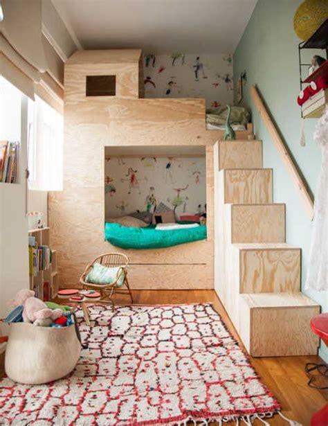 kid loft bed idée pour des lits superposés et disposition