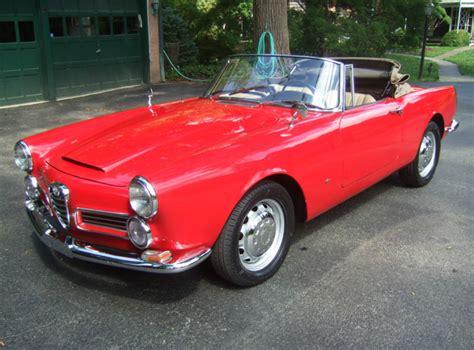 Classic Alfa Romeo For Sale by 1965 Alfa Romeo 2600 Spider Classic Italian Cars For Sale