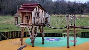 Jeux Exterieur Bois Enfant : aire jeux bois ~ Premium-room.com Idées de Décoration