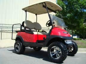 Club Car Precedent Lifted Golf Carts