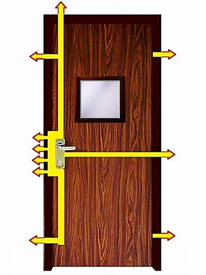 Door Security Steel Window Glass Toughened Doors