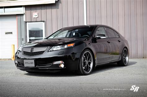sr auto acura tl on pur wheels car tuning