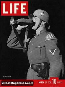 Cover Page Of An Essay For Sale Life Magazine March 28 1938 German Soldier