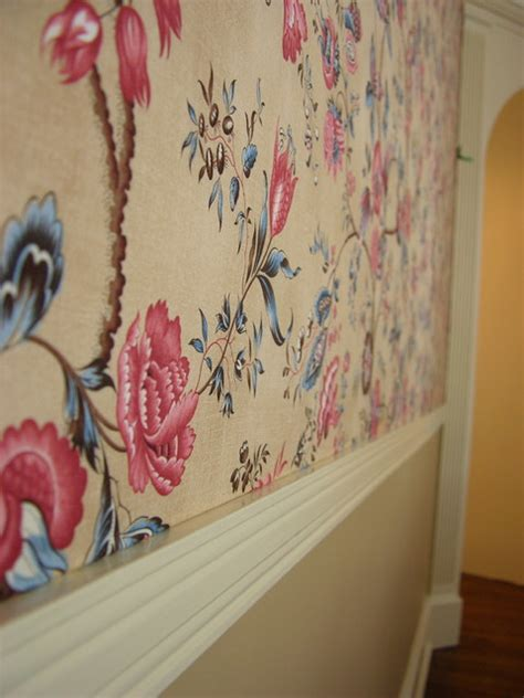 Wall Upholstery Track Systems by Wall Upholstery With Clean Edge System Track On The Walls
