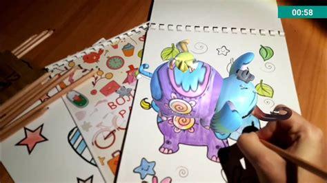 augmented reality color book volshebnye raskraski youtube